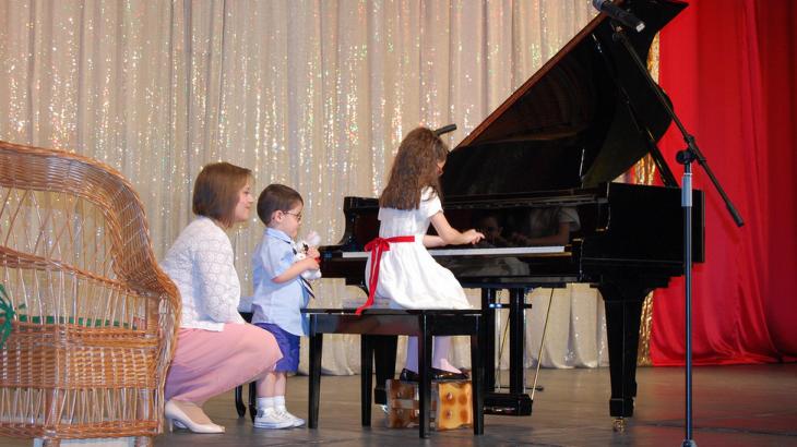 lectii de pian copii